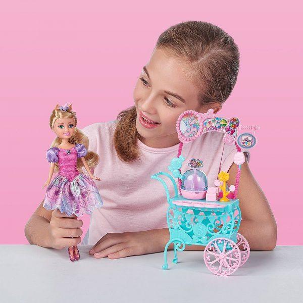 Set za igru Štand sa slatkišima Sparkle Girlz