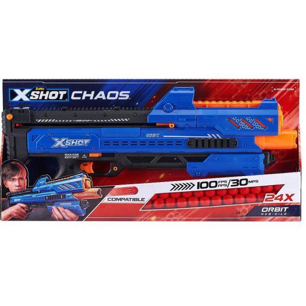 X-Shot Chaos puška Orbit