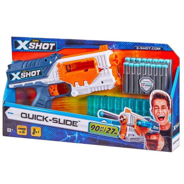 X-Shot Excel pištolj Quick Slide