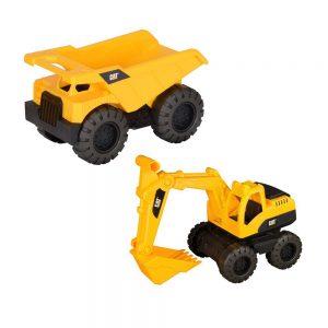 CAT Tough Tracks Kamion i rovokopač