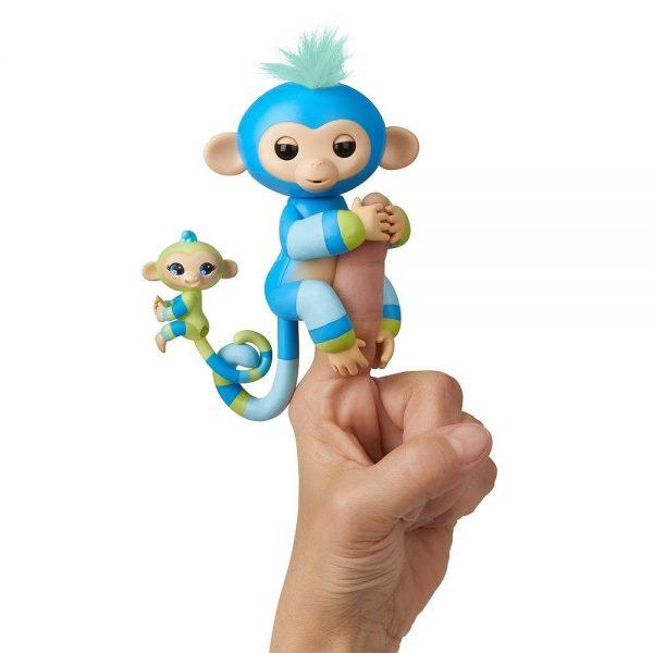 Fingerlings BFF interaktivni majmunčić Bille i Aiden