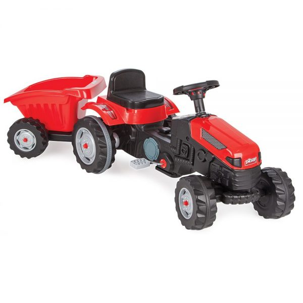 Traktor na pedale s prikolicom Pilsan