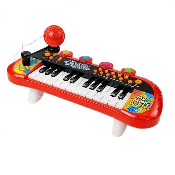 Dječje klavijature i mikrofon