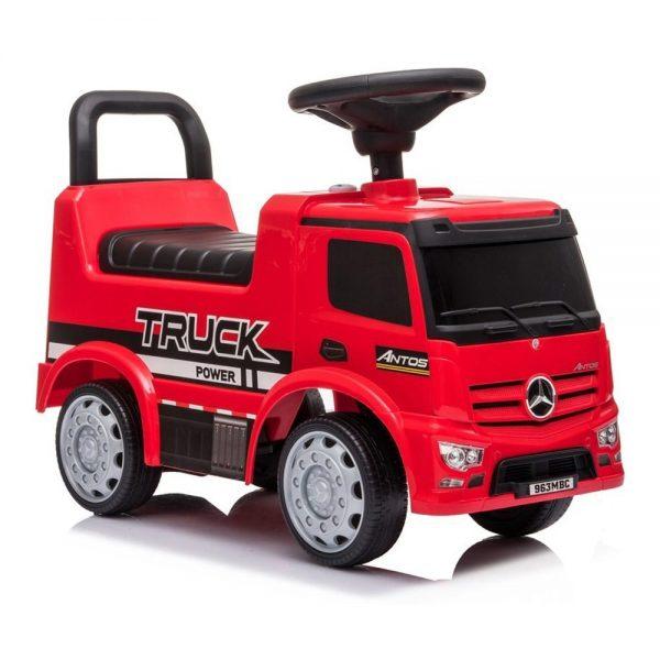 Dječji kamion guralica Mercedes Antos crveni