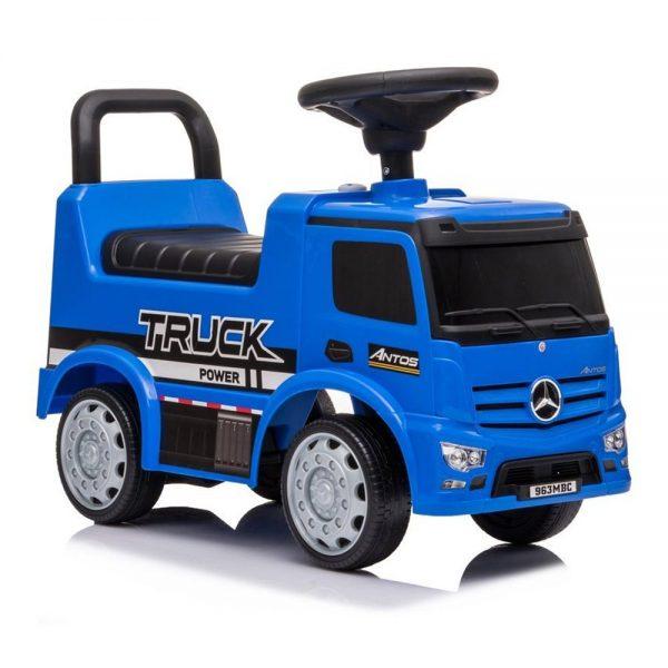 Dječji kamion guralica Mercedes Antos plavi
