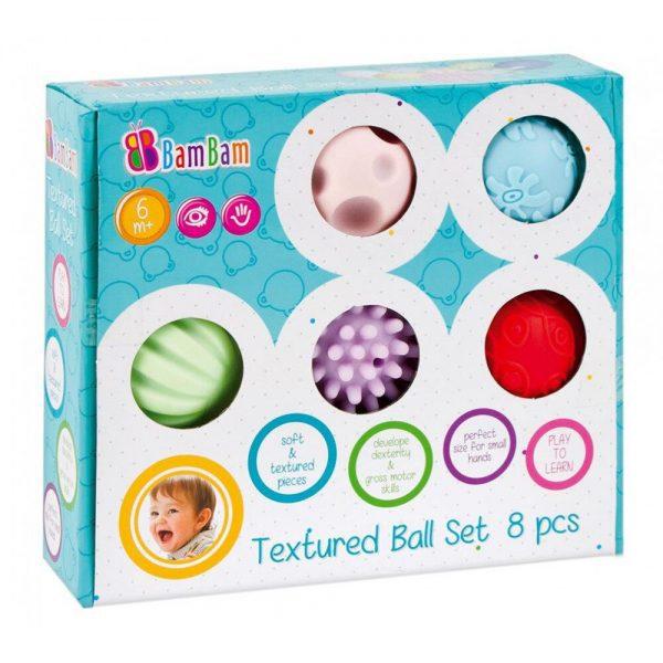 Senzorne loptice za bebe BamBam 8 u 1