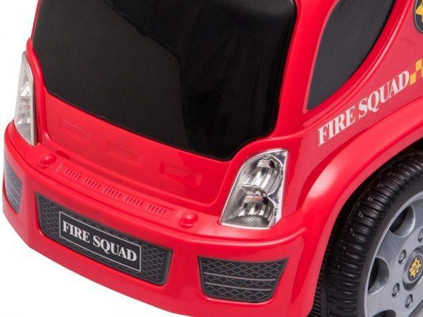 Dječja guralica Vatrogasni kamion s puhalicom prednja svjetla