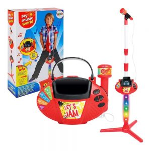 Dječji mikrofon za karaoke na stalku