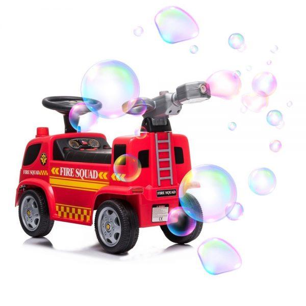 Dječji vatrogasni kamion guralica s puhalicom