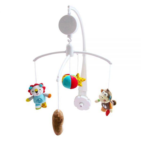 Glazbeni vrtuljak za kinderbet Kikka Boo lav Leo