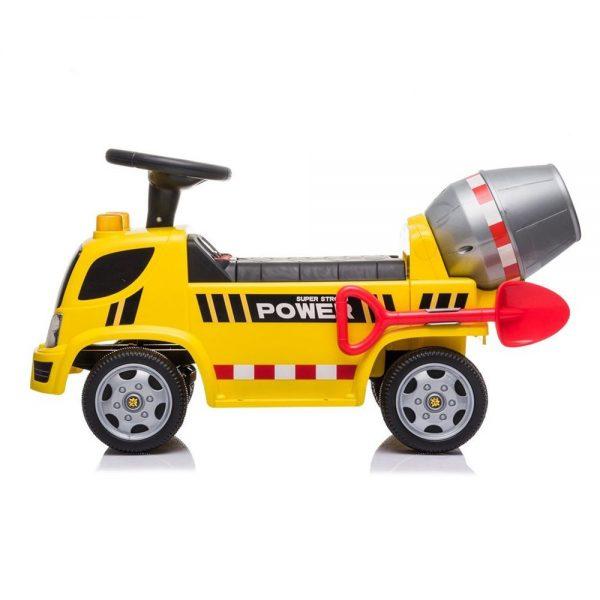 Kamion mješalica guralica za djecu sa svjetlima i zvukom