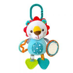 Plišana igračka za bebe Kikka Boo lav Leo