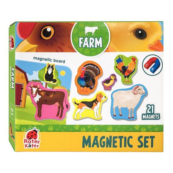 Set za igru s magnetima Farma