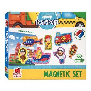 Set za igru s magnetima Promet