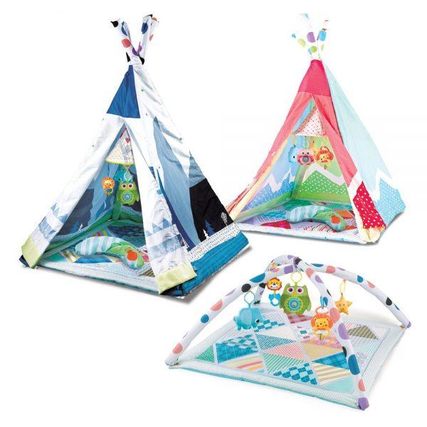 Teepee šator 2 u 1 Kikka Boo Adventure
