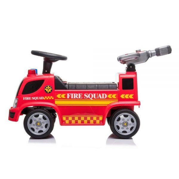 Vatrogasni kamion guralica za djecu s puhalicom za balončiće